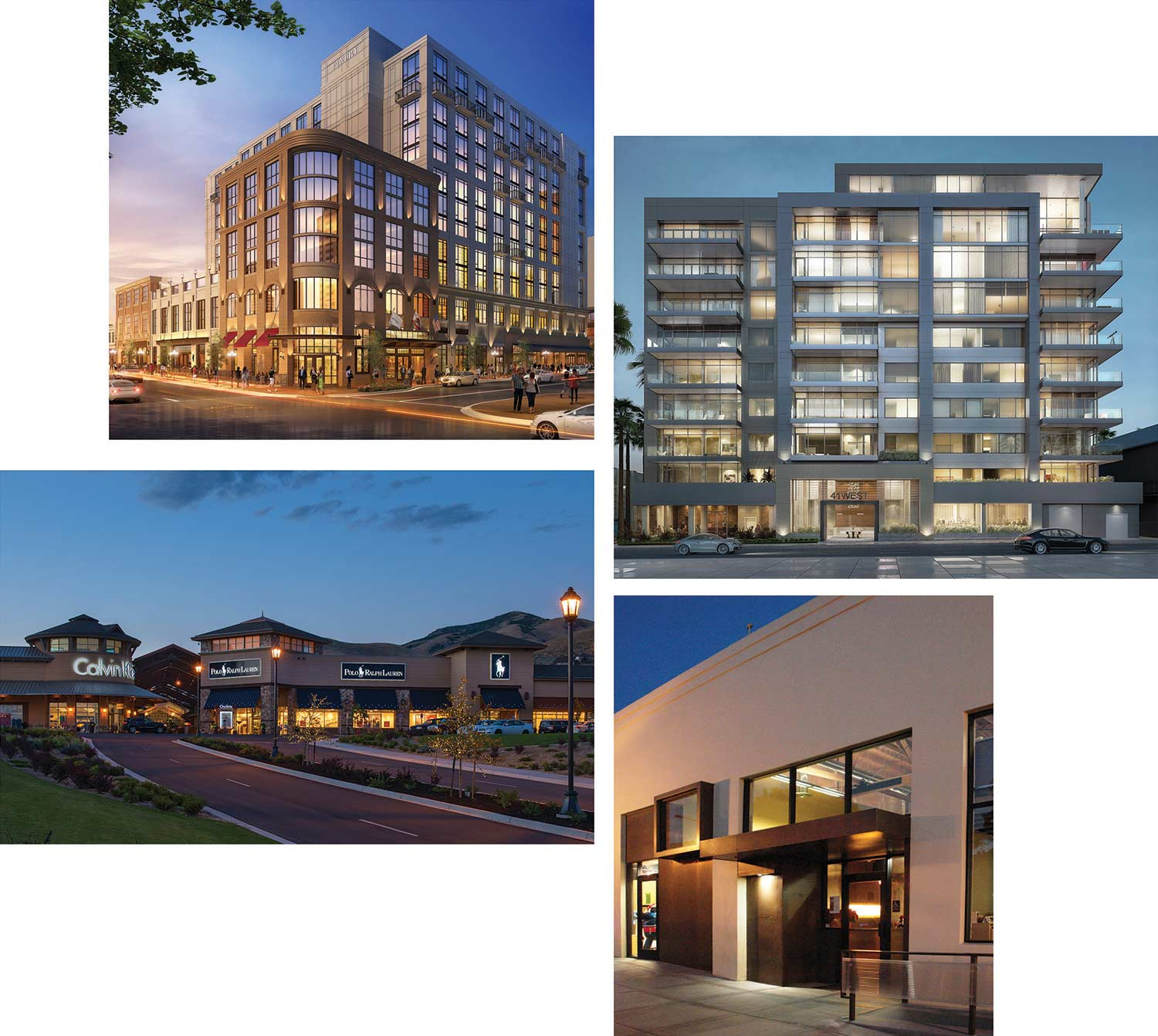 4 buildings designed by ACRM Architects