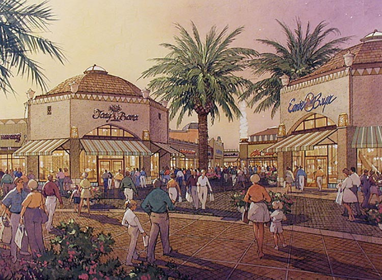 Citadel Outlets Drawing