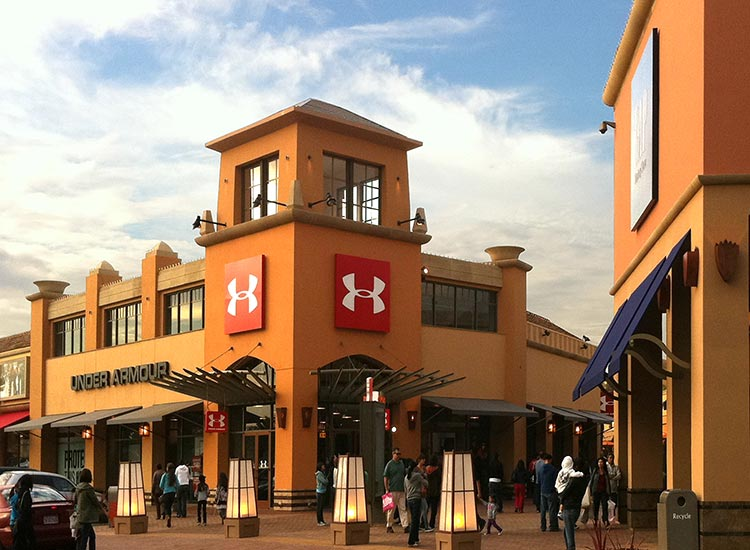 Acrm Architects Citadel Outlets Under Armour Store