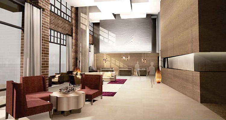 Luhrs Interior: Lobby