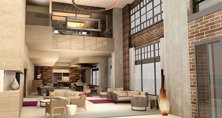Luhrs Interior: Lobby Two