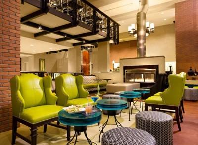 Residence Inn Gaslamp Lobby