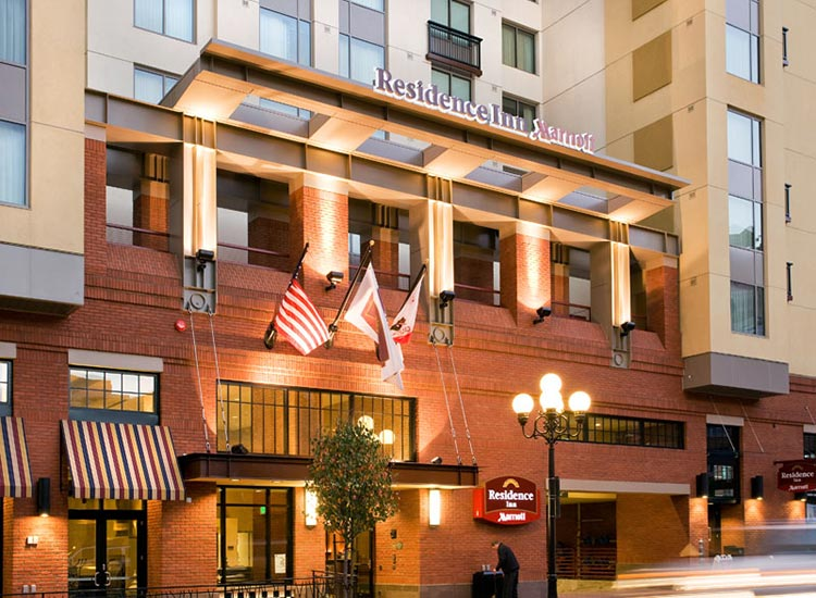 Residence Inn Gaslamp Entrance
