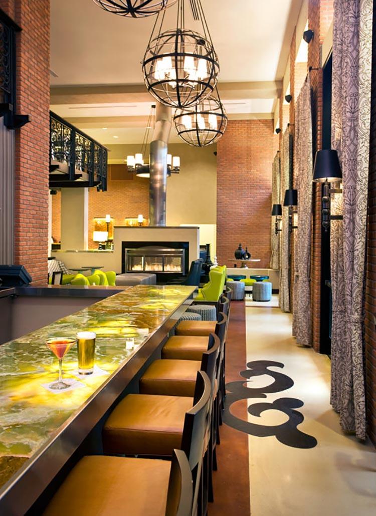 Residence Inn Gaslamp Bar and Fireplace