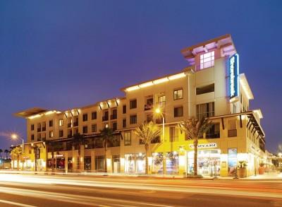 The Shorebreak Hotel at Night