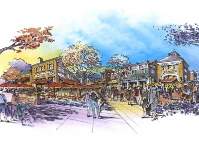 Sussex Commons Lifestyle Outlets drawing
