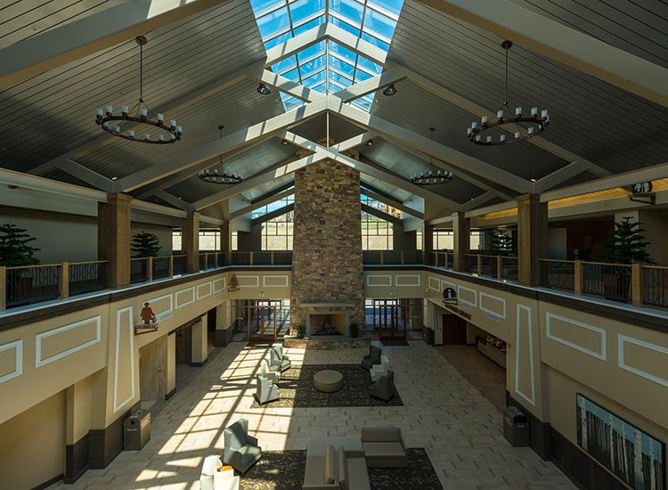 Outlets at Traverse Mountain interior