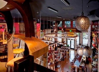 Cafe Sevilla from the Upper Level