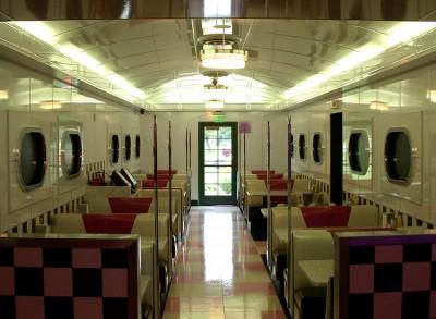 Corvette Diner Booths
