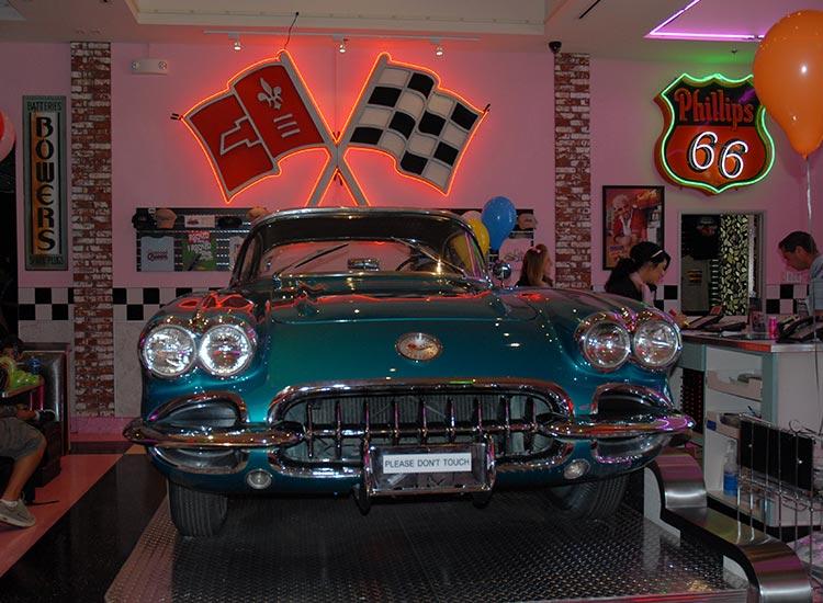 Corvette Diner Car