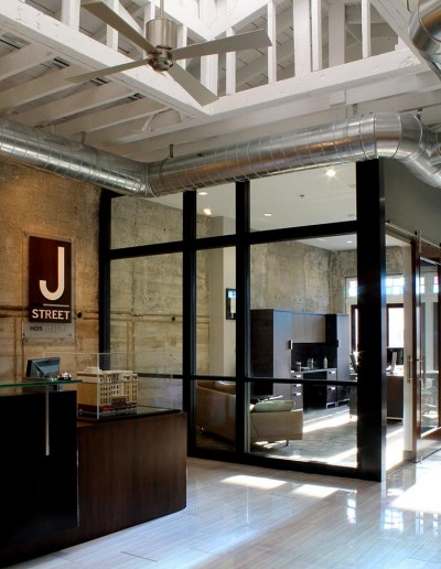 J Street Hospitality Headquarters Reception