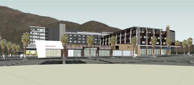 Palm Canyon Residential Mixed-Use Full Complex