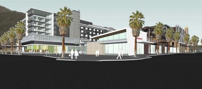 Palm Canyon Residential Mixed-Use Street View