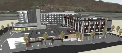 Palm Canyon Residential Mixed-Use Full View Two