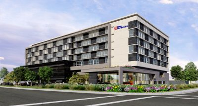 ACRM Architects San Carlos Hilton Garden Inn Perspective 3