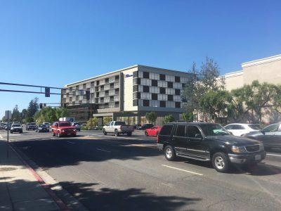 ACRM Architects San Carlos Hilton Garden Inn Perspective 1