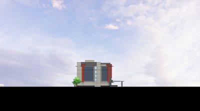 ACRM Architects Millbrae North Elevation