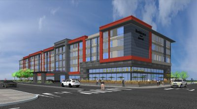 ACRM Architects Millbrae Perspective