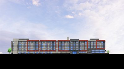 ACRM Architects Millbrae West Elevation
