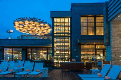 Pasea Hotel-ACRM Architects at Night