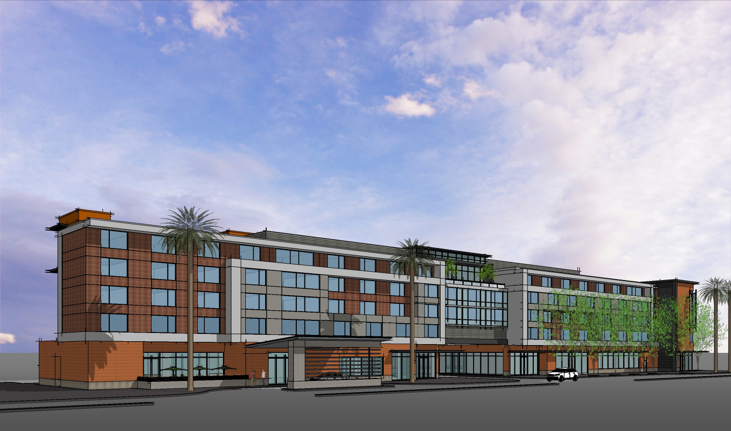 Millbrae CA ACRM Architects Perspective