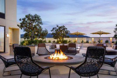 Spring Hill Suites Firepit